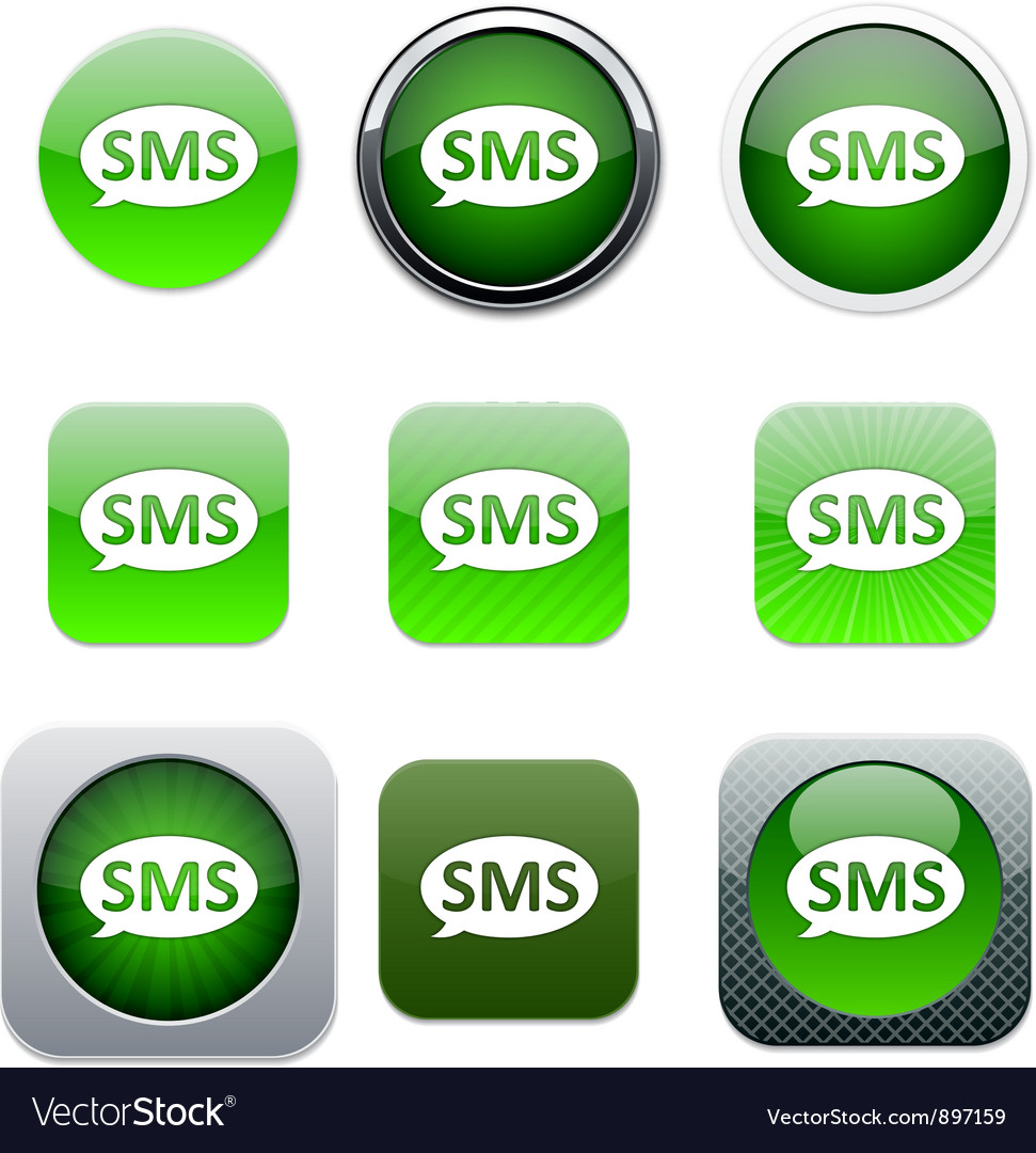 SMS green app icons