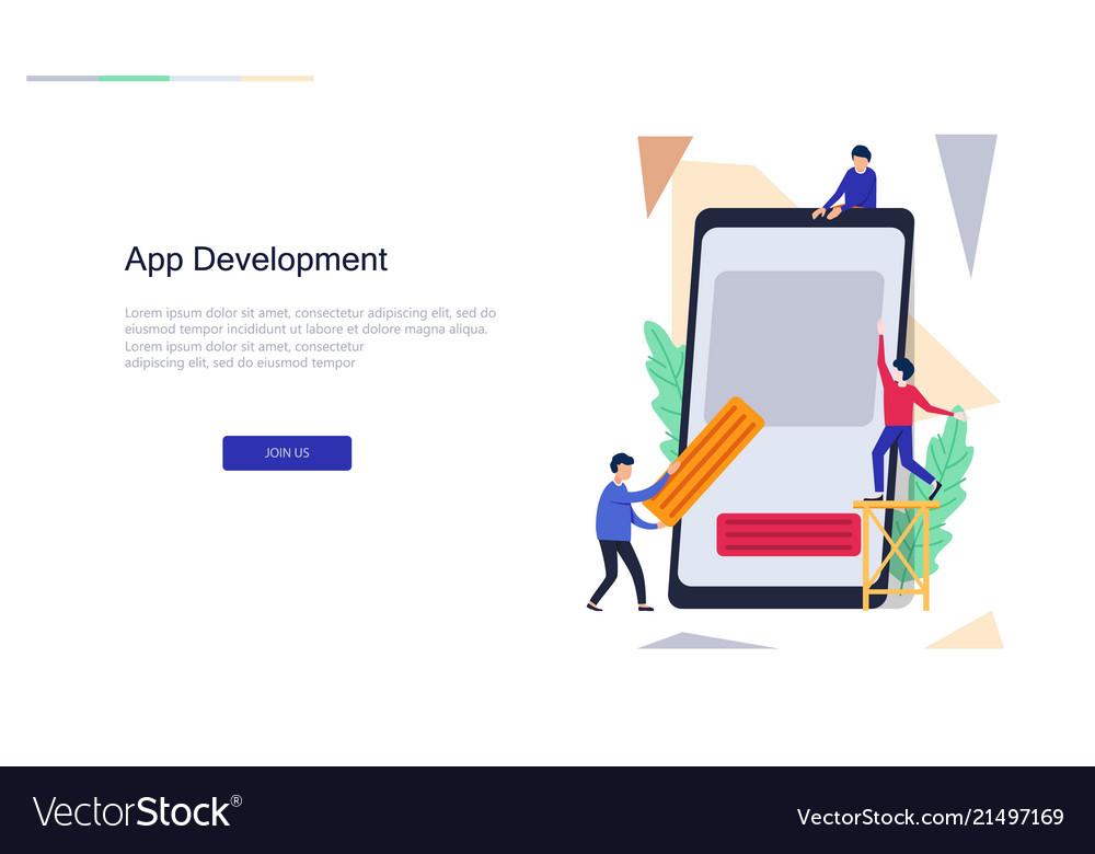 App development for website design web