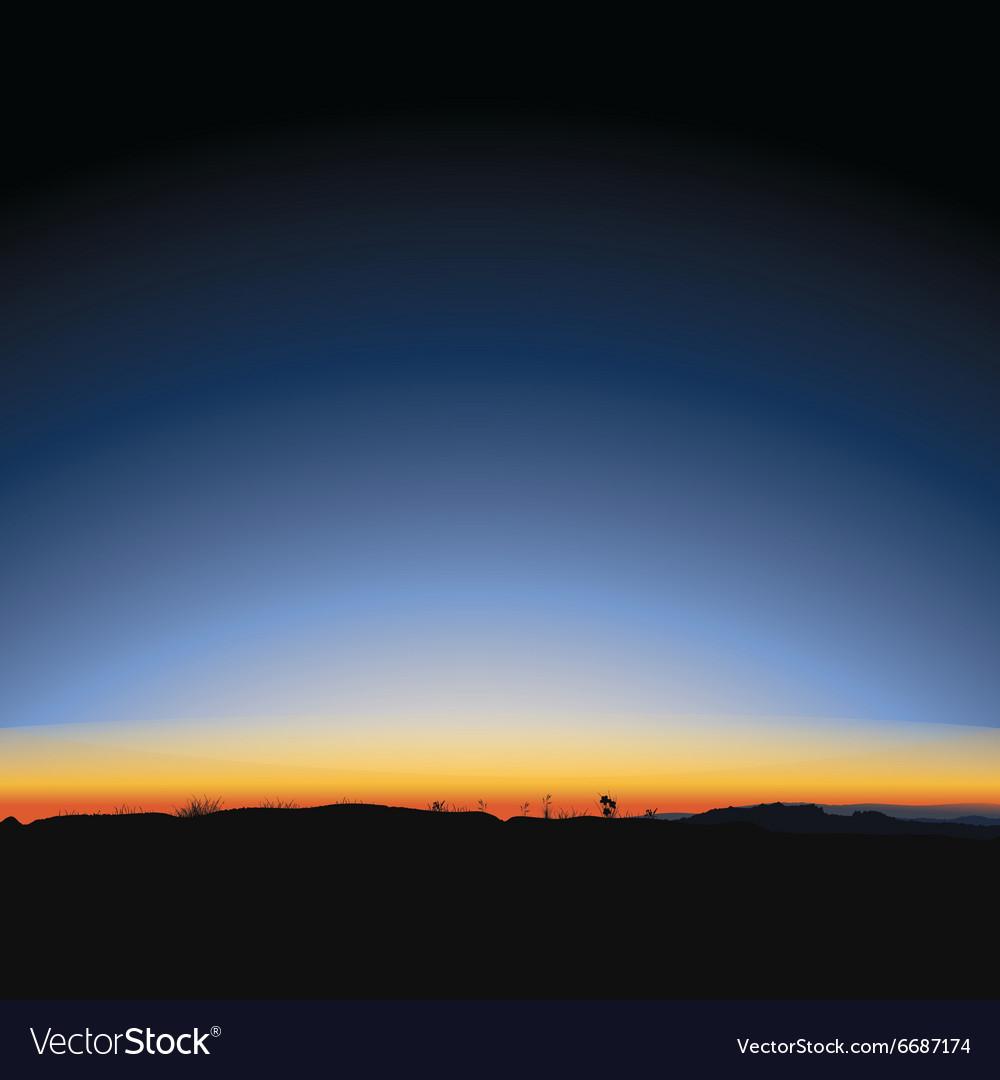Beautiful majestic sunrise