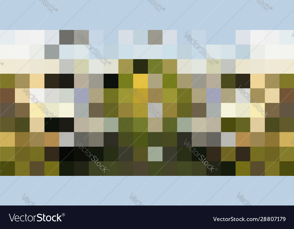 Abstract pixel grid background or mosaic tile