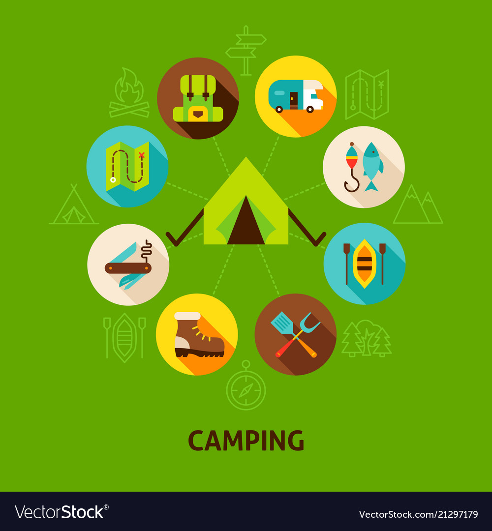 Concept camping tent