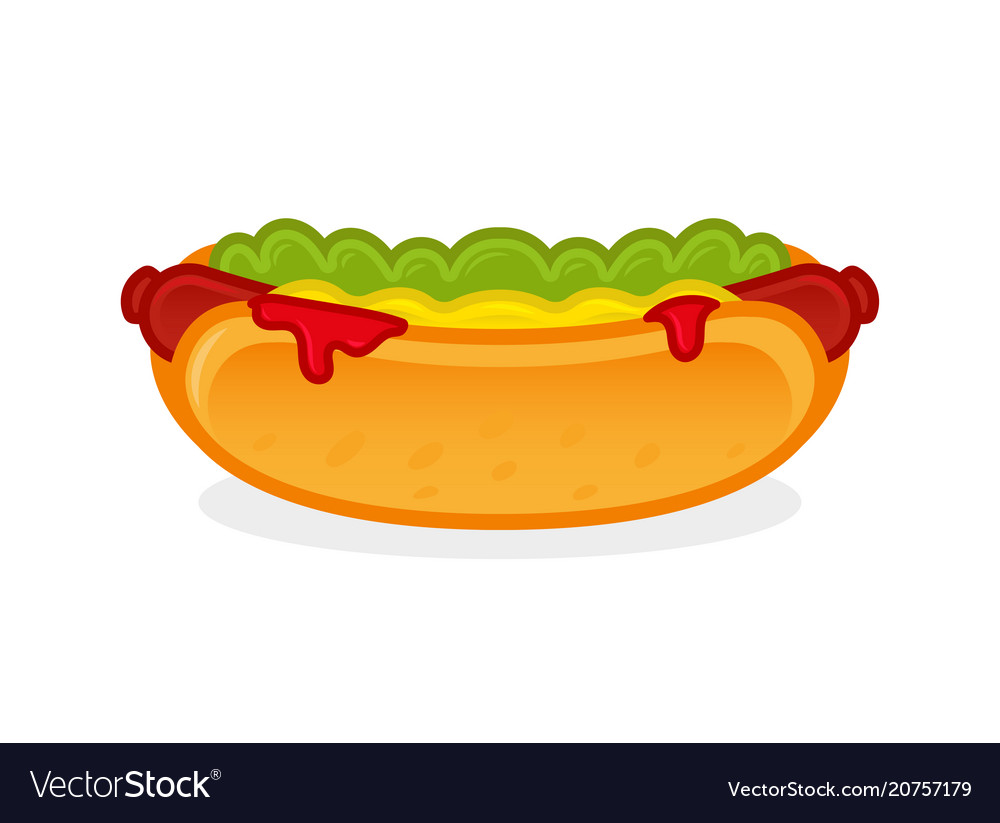 Icon hot dog