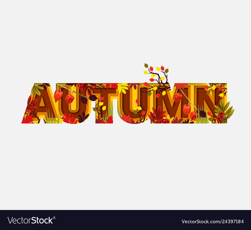 Autumn sale design with falling leaves on light