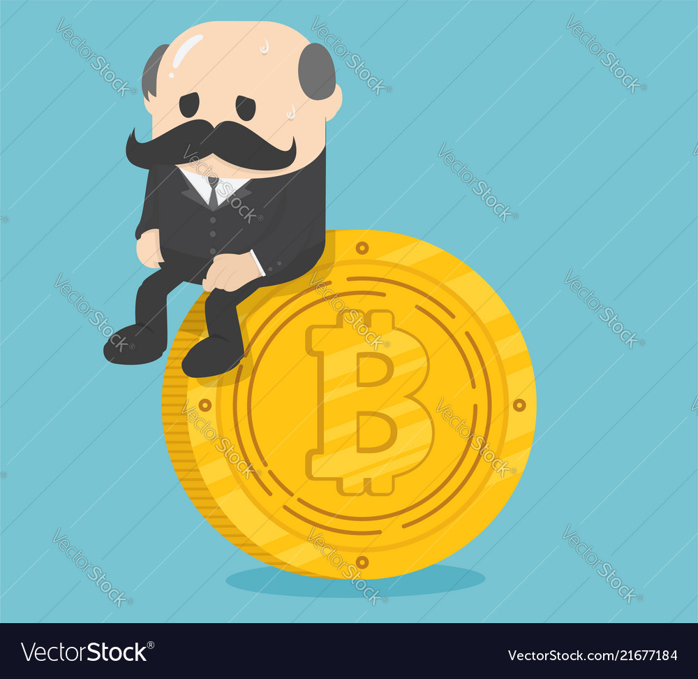 Business sitting on coins bitcoin critical