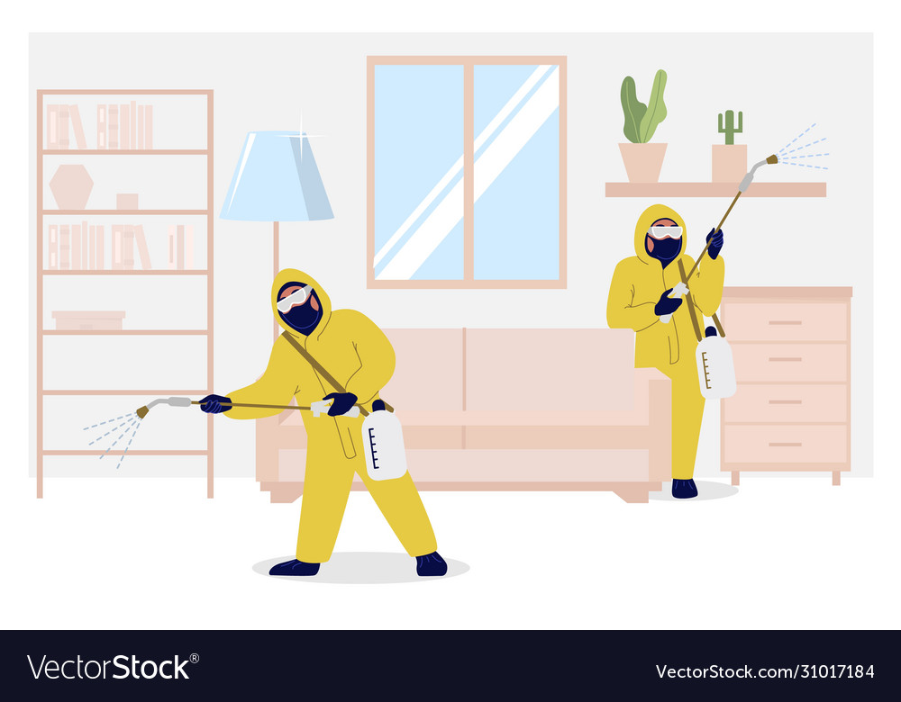 Home insect control services flat