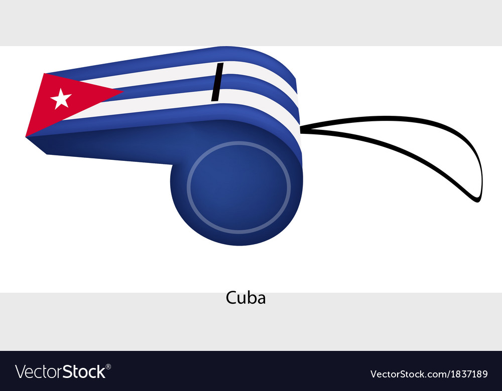 A Whistle of The Republic of Cuba