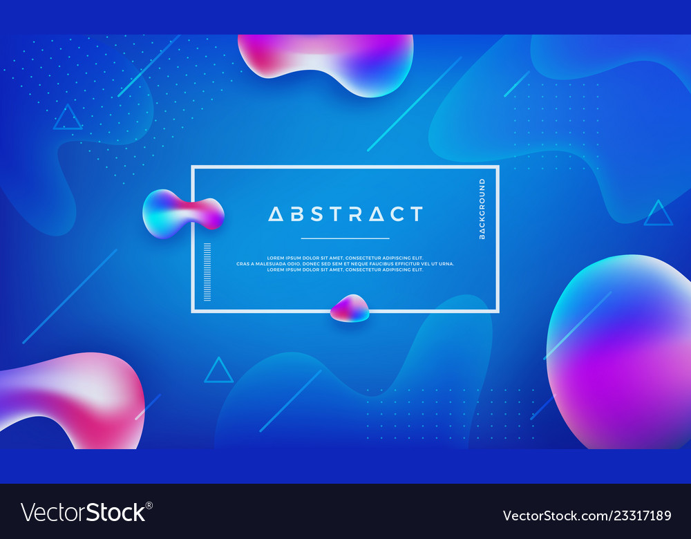 Abstract modern trendy liquid color background