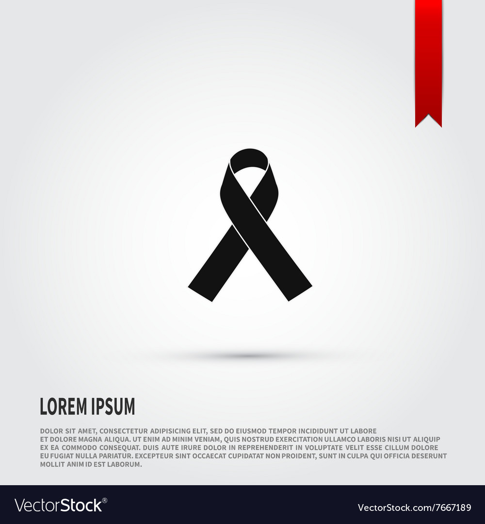 AIDS awareness ribbon icon Ribbon AIDS icon