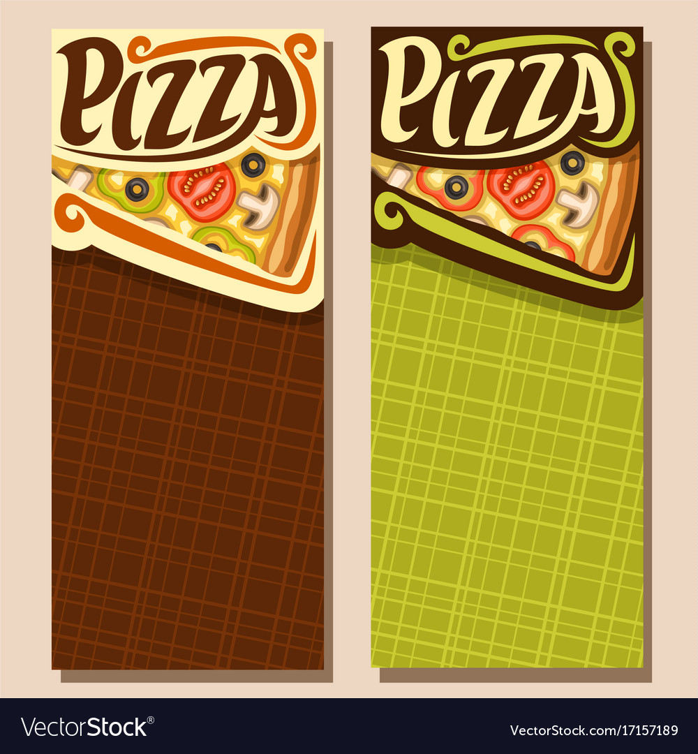 Banners for pizza