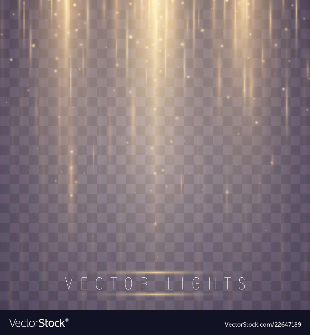 Magic light effect