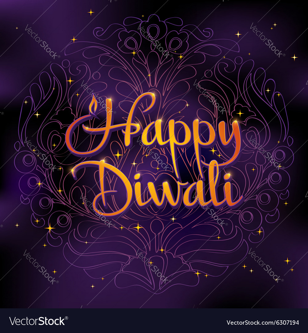 Beautiful greeting card for Hindu community Happy