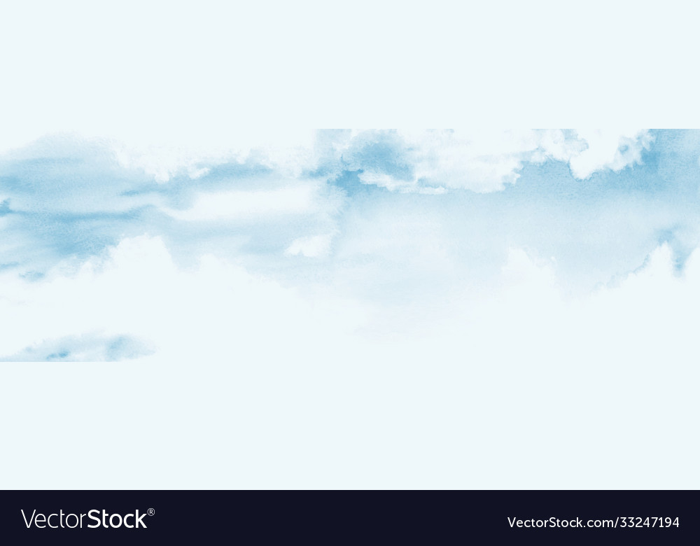 Blue sky and clouds abstract design