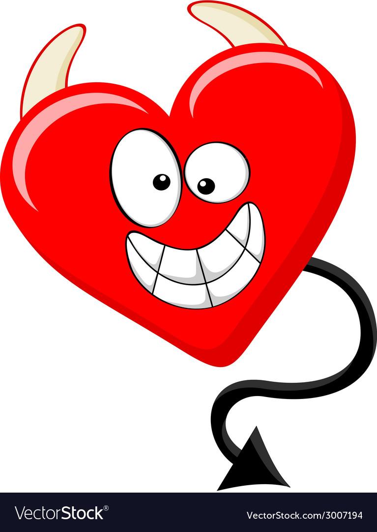 Cartoon Like Of Evil Heart Roy...