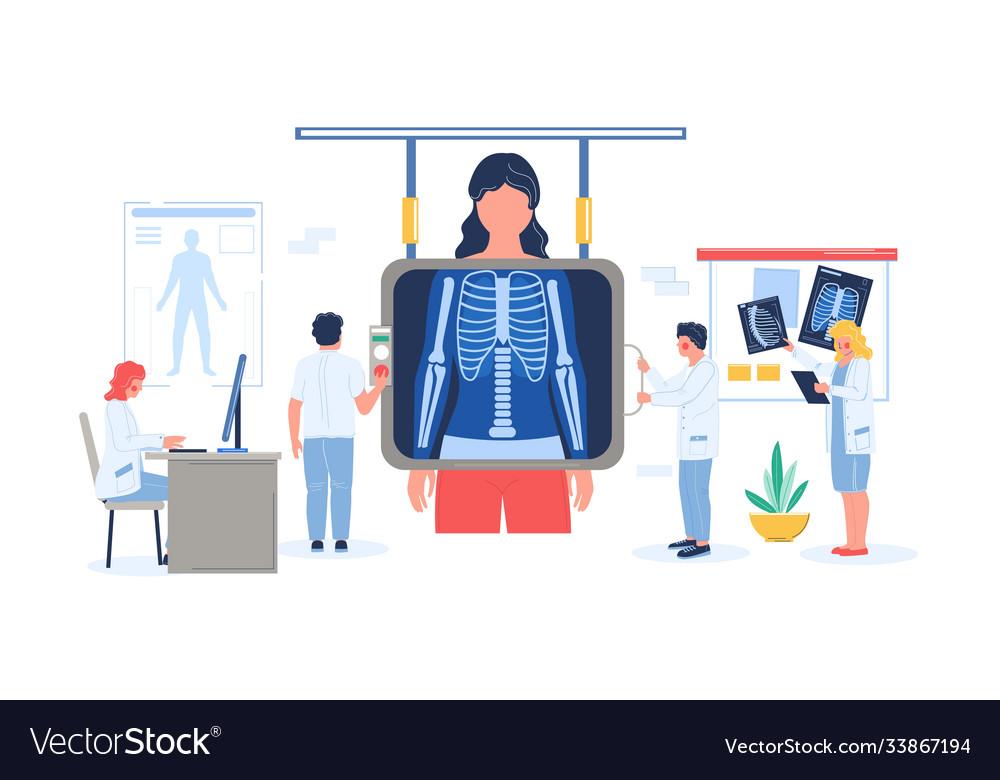 Fluorography exam or chest xray screening