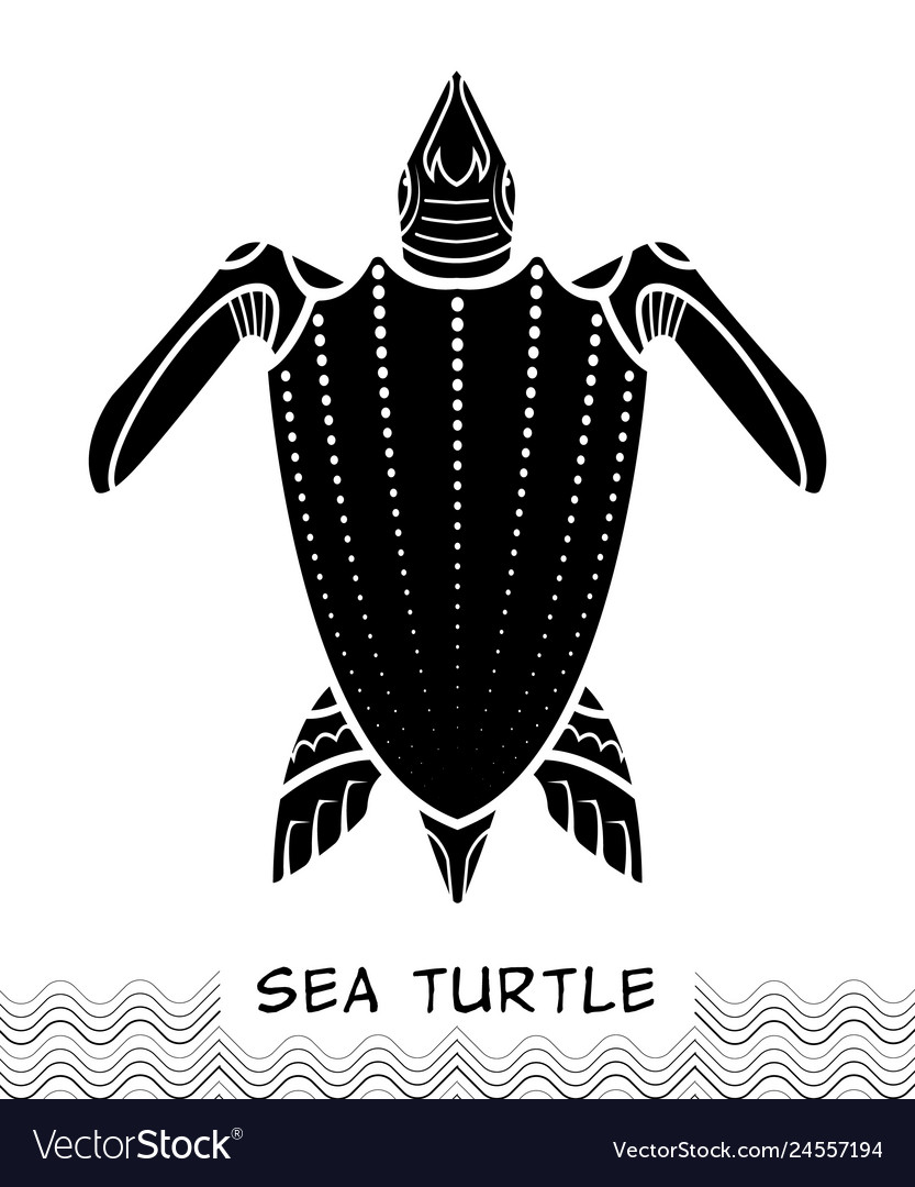 Sea turtle icon 03