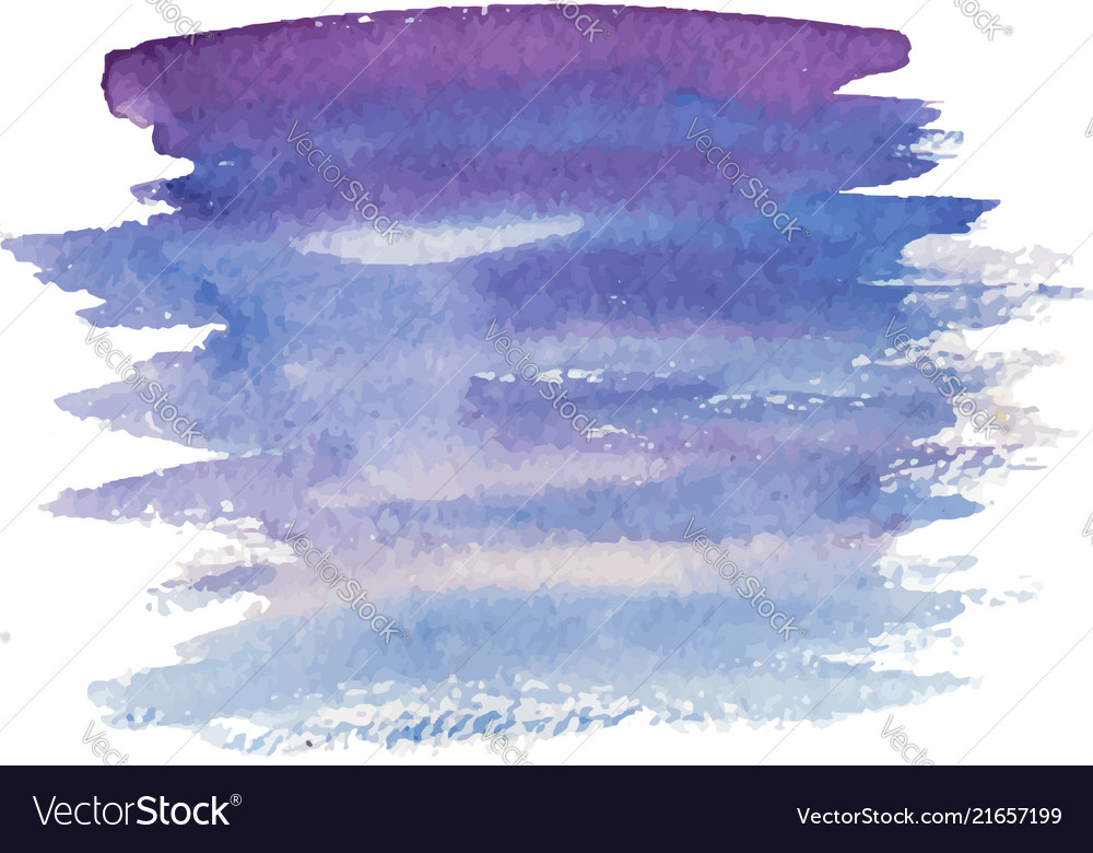 Abstract watercolor brush strokes