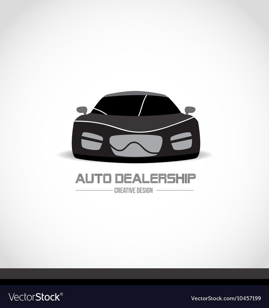 Car Logo Design Royalty Free Vector Image