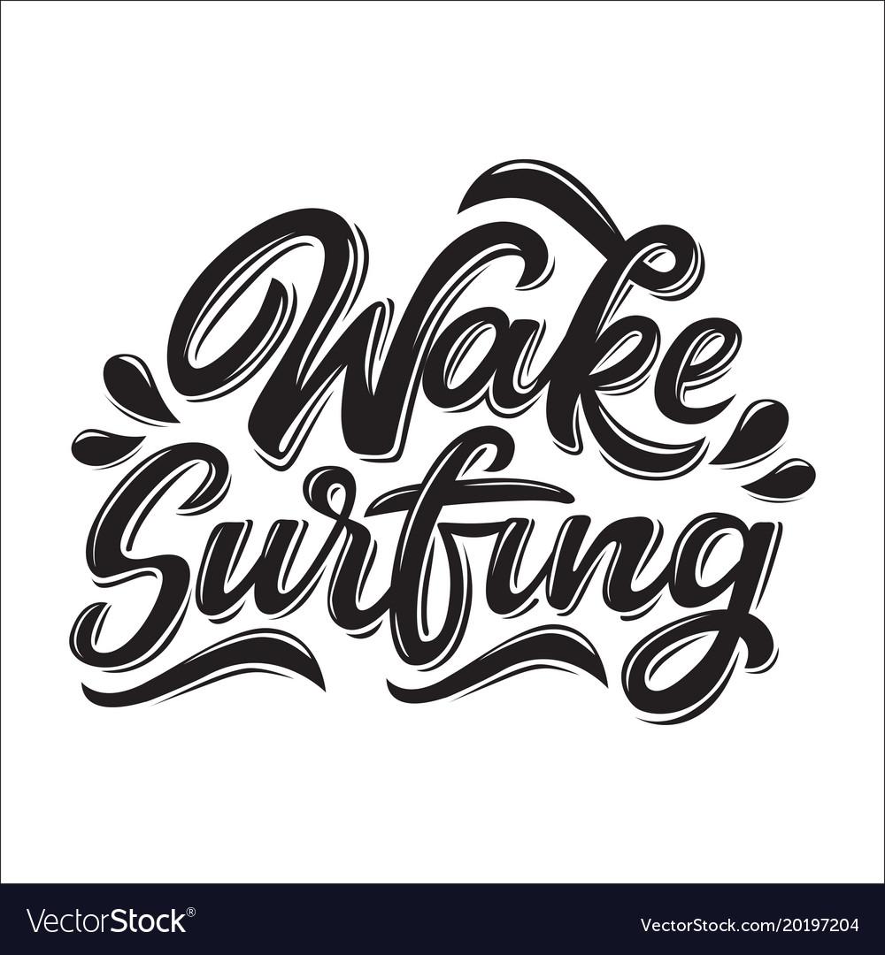Beach camp club summer logo board font shirt modern calligraphy vector images 36