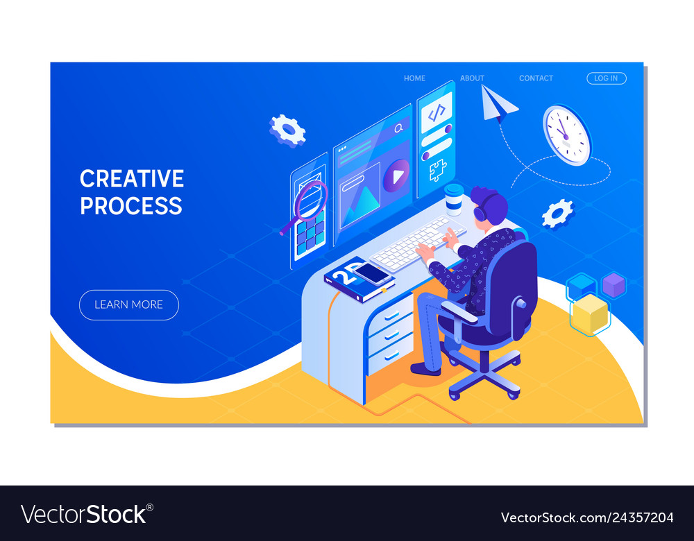 Web design creative process teamwork
