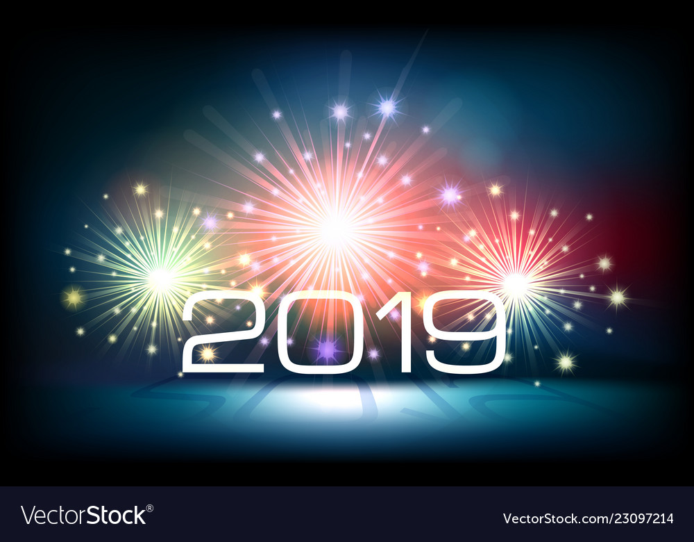 Happy new year design template