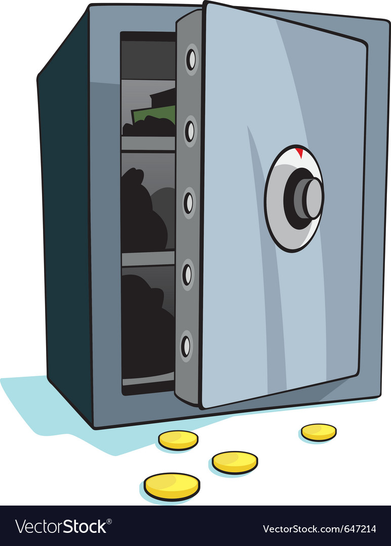 Open bank safe