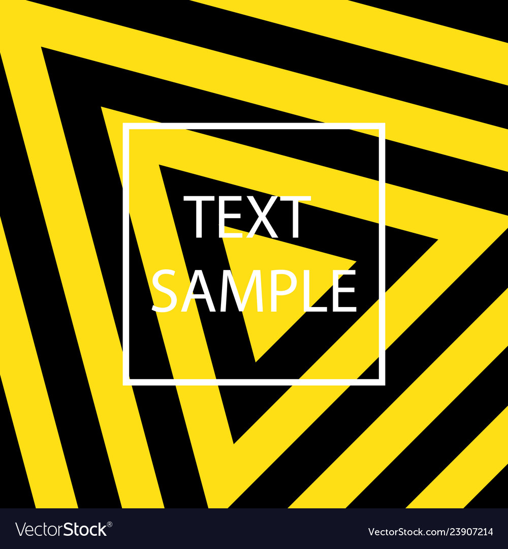 Yellow and black texture
