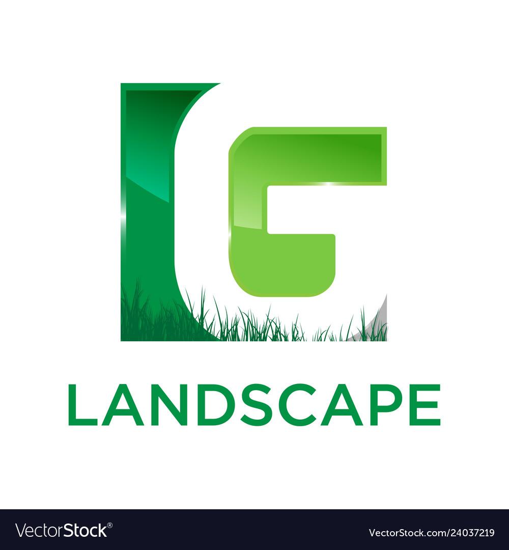 G green landscape logo