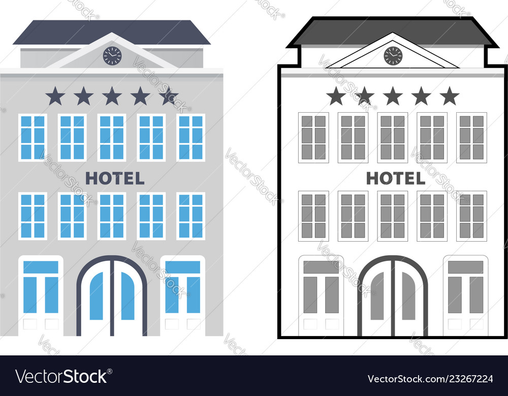 Flat style hotels as a star rating concept