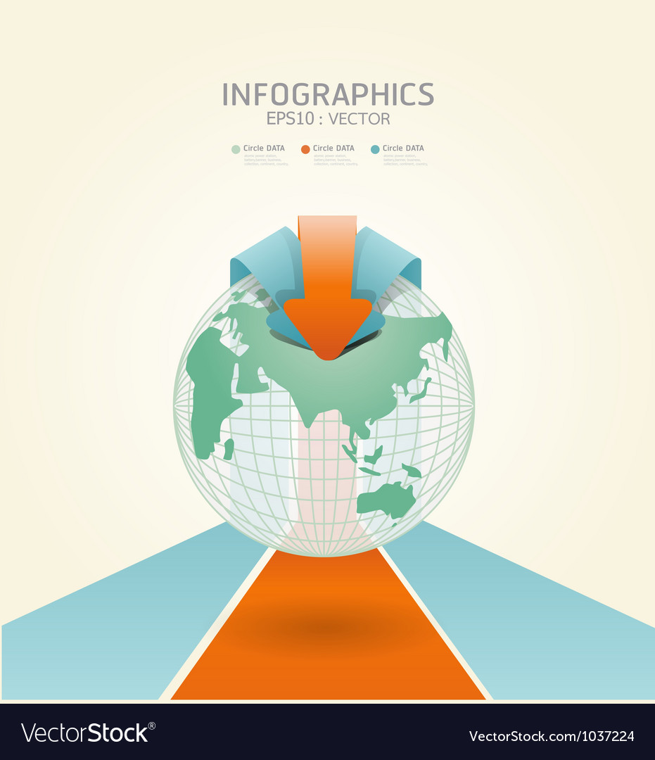 Soft color infographics