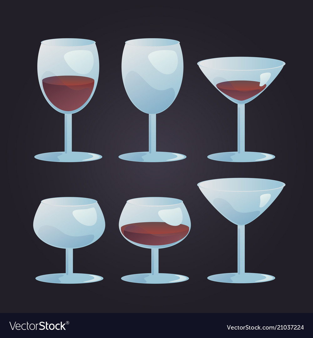 Wine stemwares set