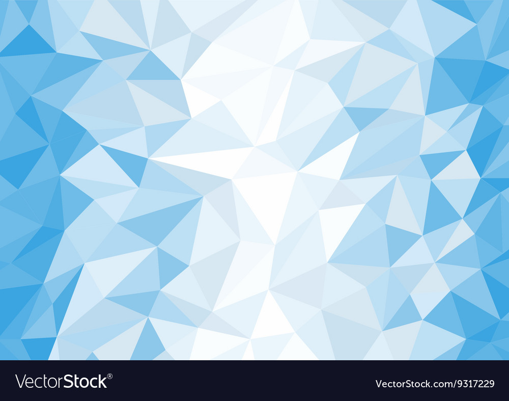 abstract blue and white polygon background vector image rh vectorstock com blue and white vector blue and white vector background