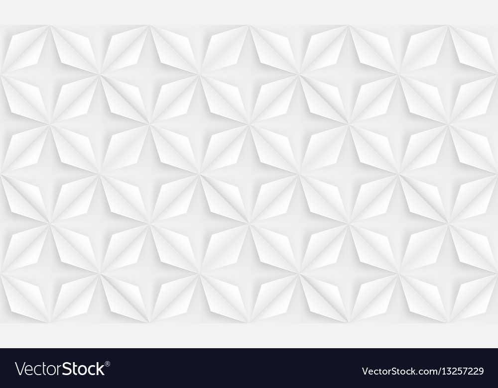 Seamless abstract flowers background geometric