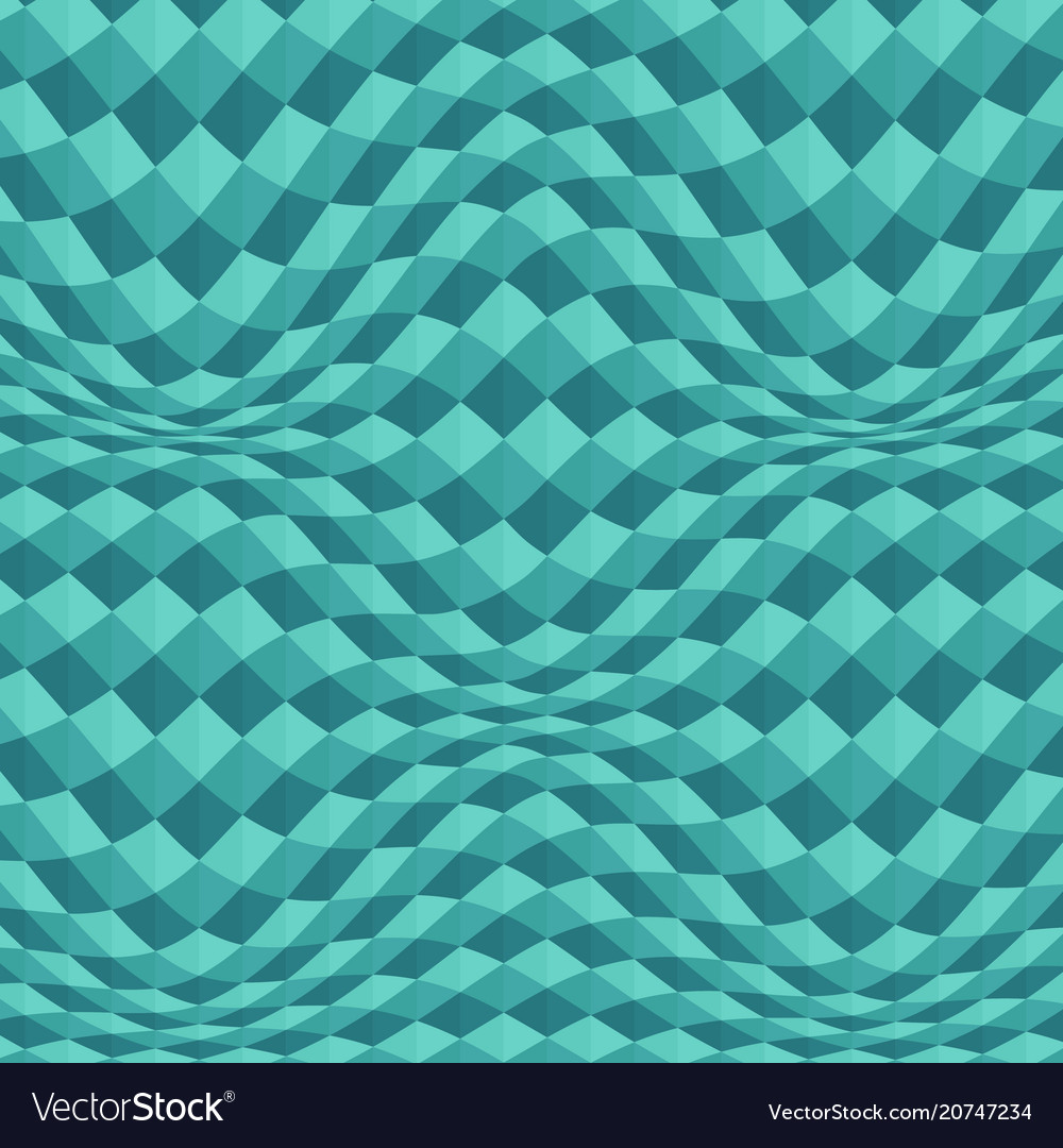 Abstract of blue geometric wave background