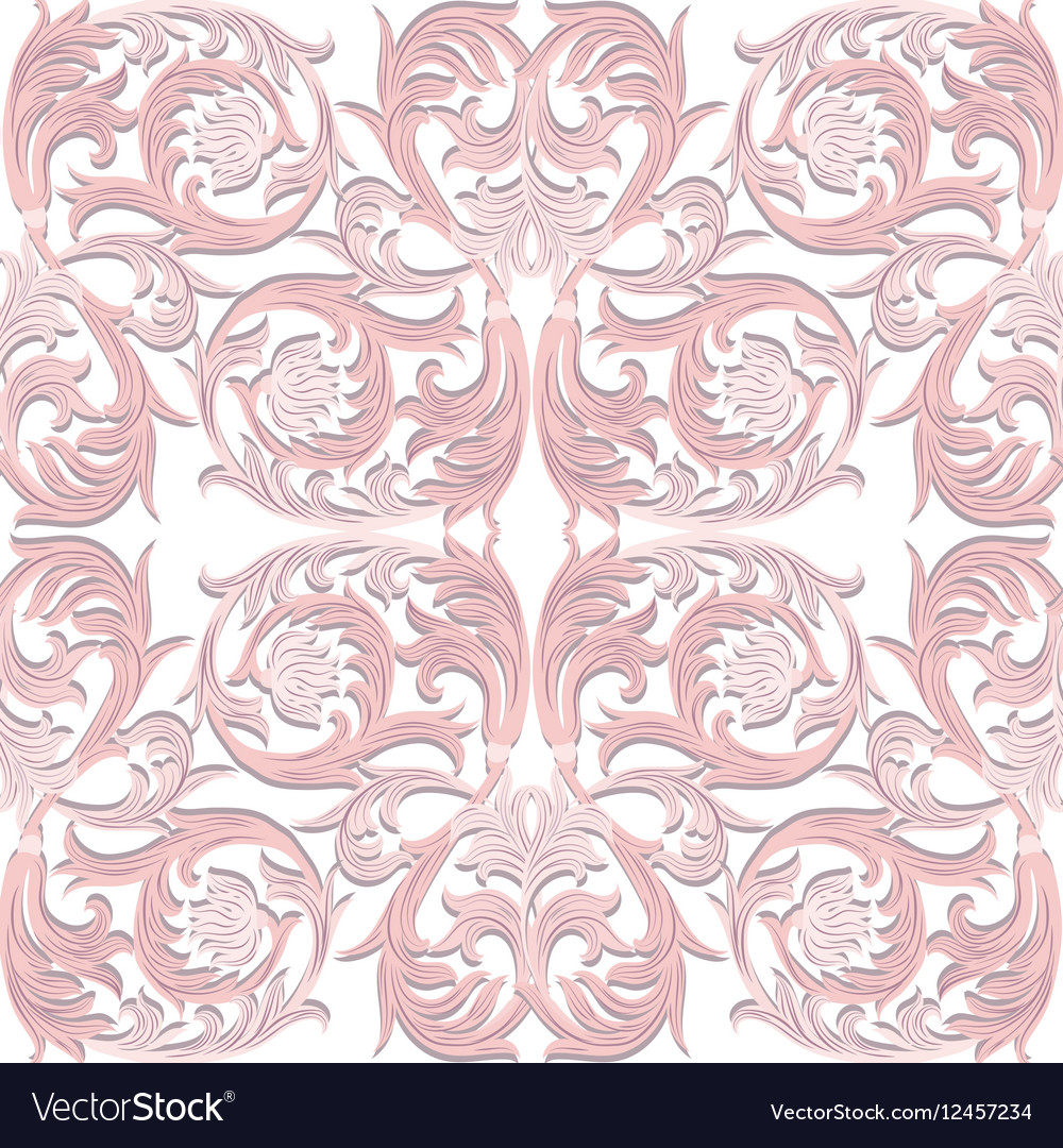 Baroque Luxury ornament pattern