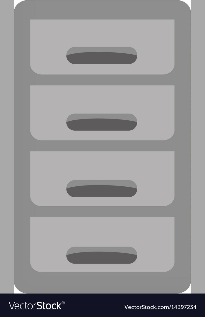 File cabinet icon vector image & File cabinet icon Royalty Free Vector Image - VectorStock