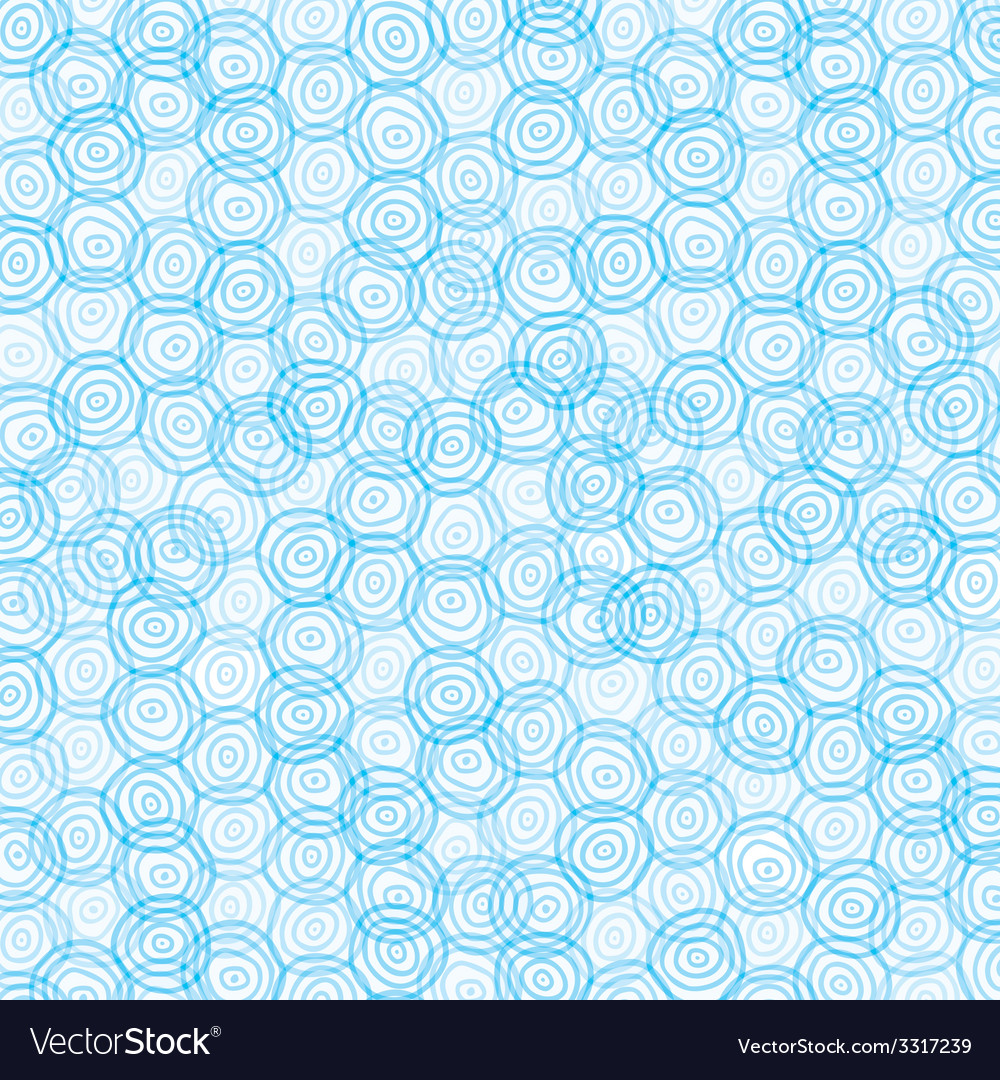blue swirl circle background vector image