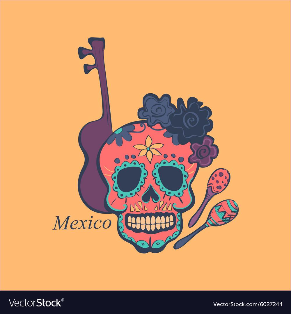 Mexican label and emblem