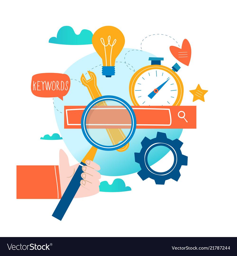 Seo search engine optimization keyword research