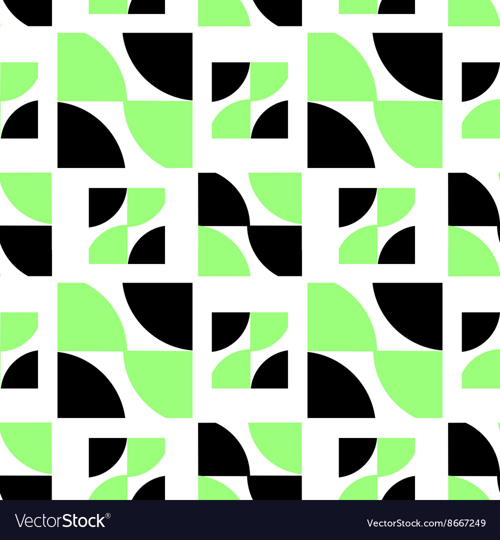 Black and green abstract pattern