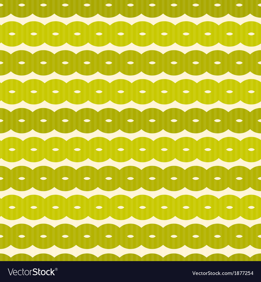 Abstract Retro Seamless Green Background