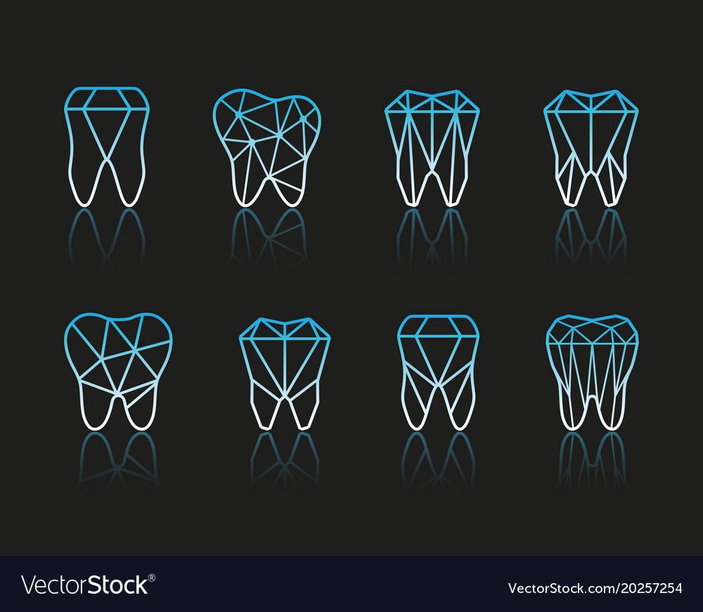 Tooth symbol set