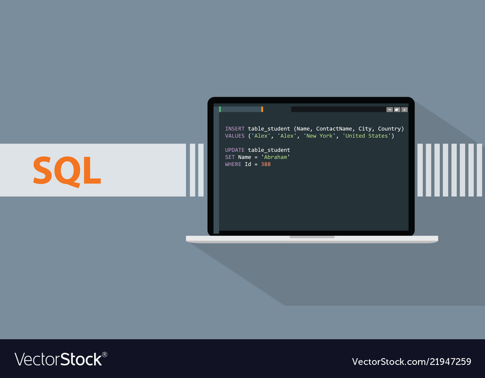 Sql structured query languages programming