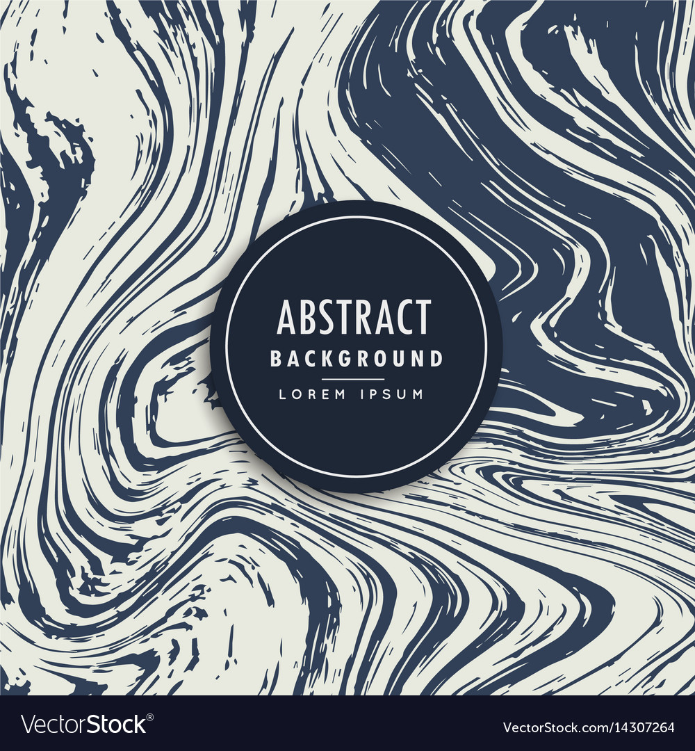 Marble hand drawn effect abstract background vector image