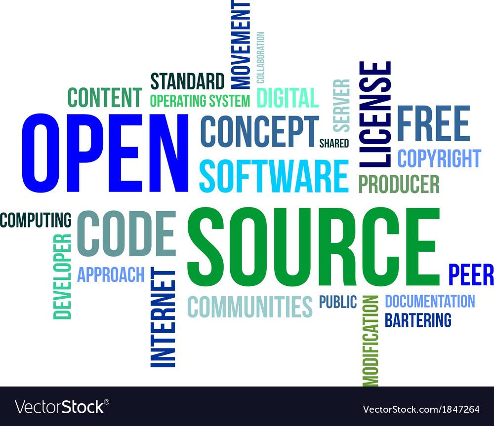 Word cloud open source