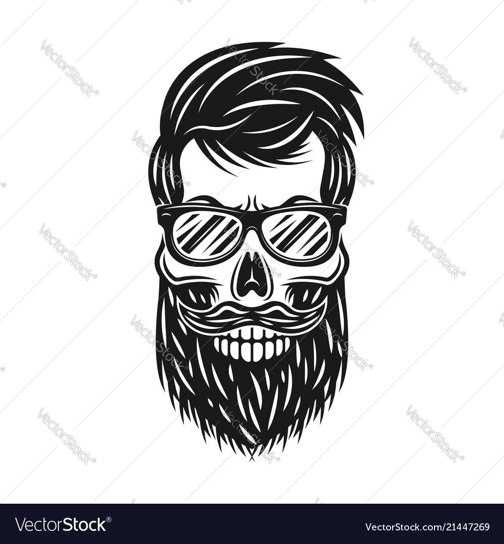 beard sunglasses outline template www