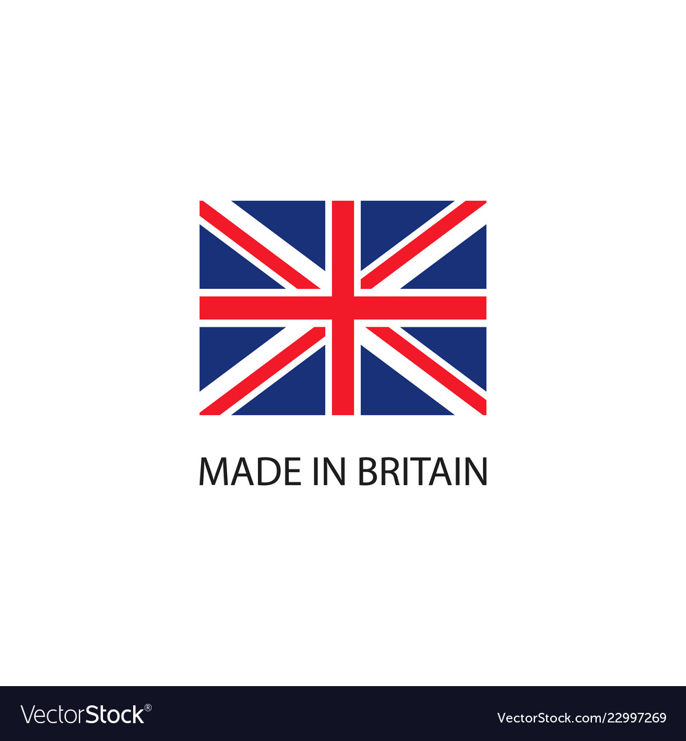 Made in britain sign