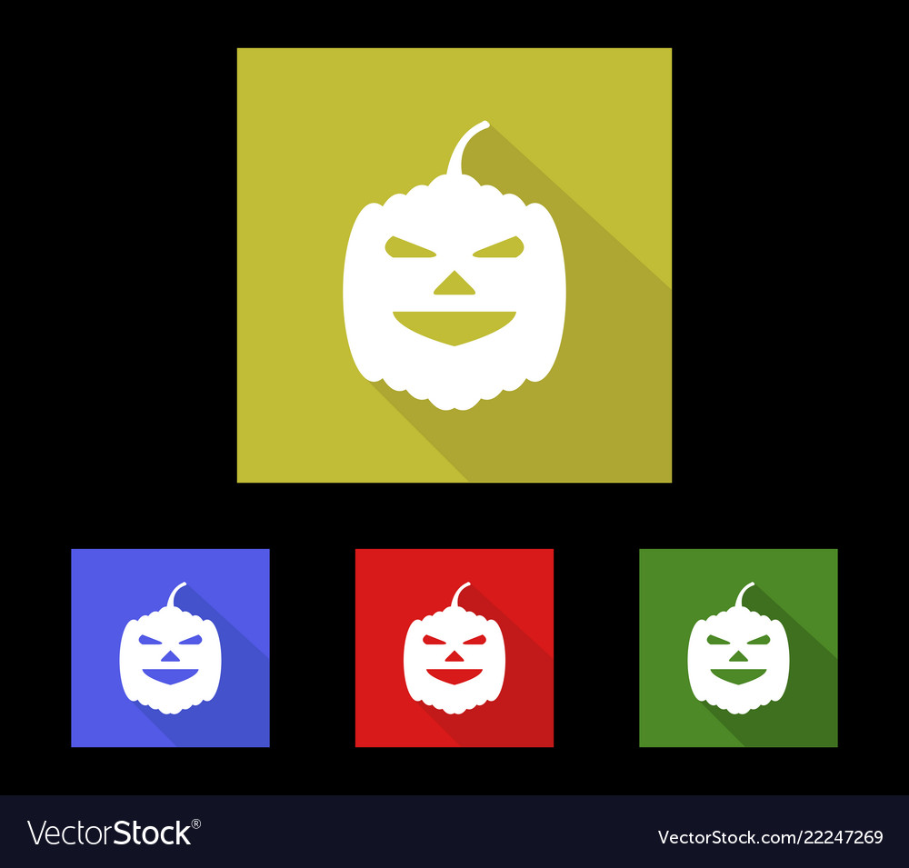 Pumpkin halloween icon