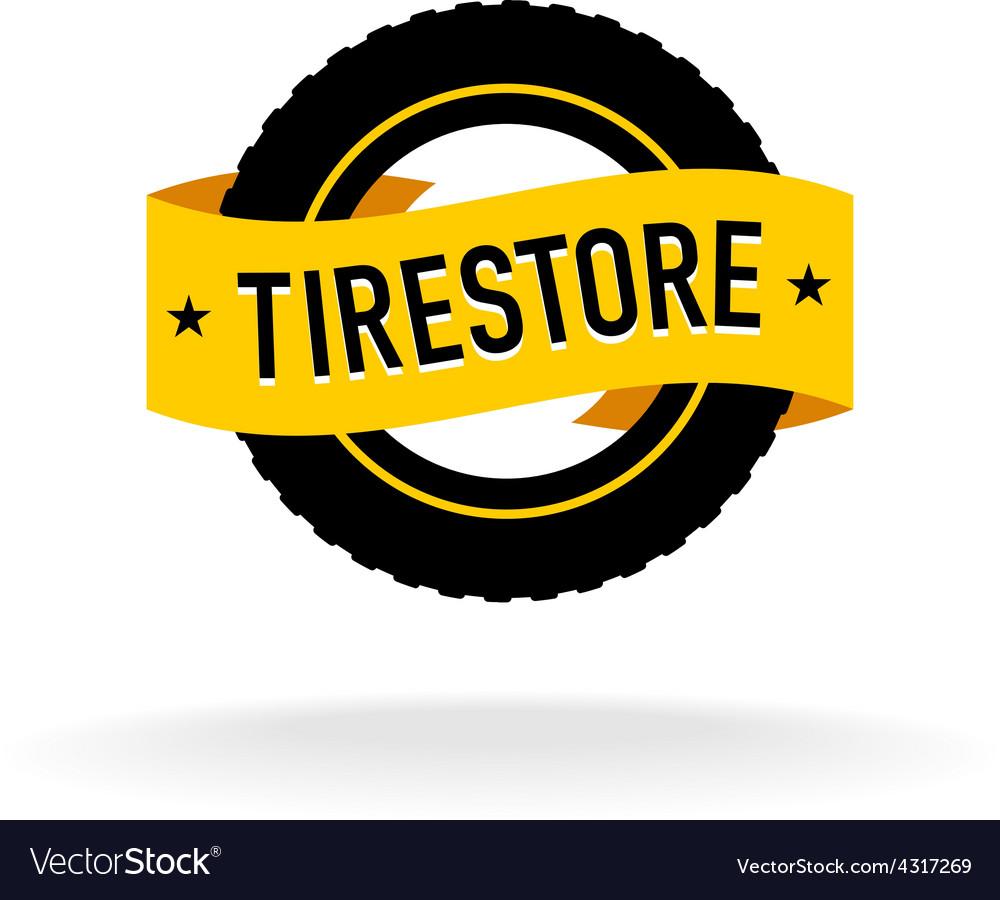 Tires store logo