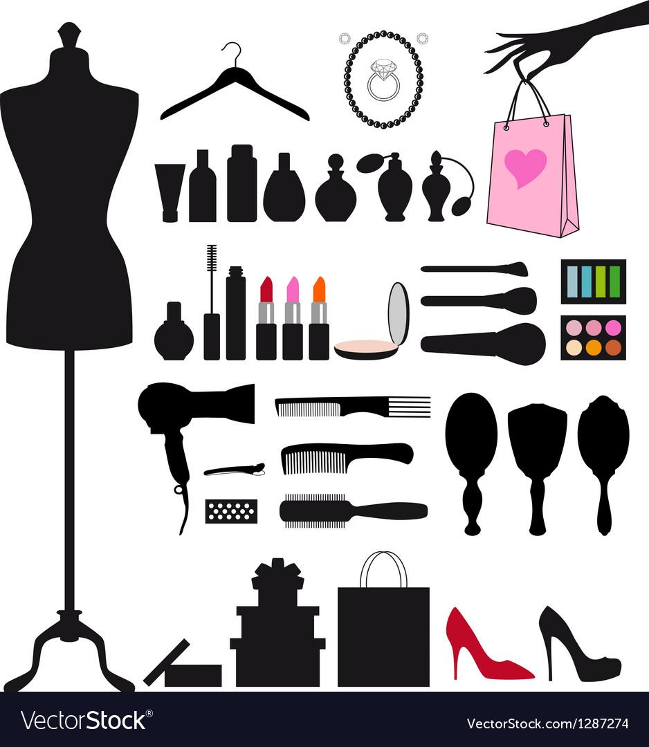 Fashion and beauty set