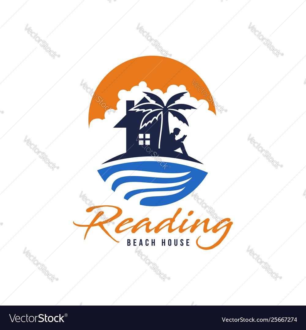 Reading beach house logo